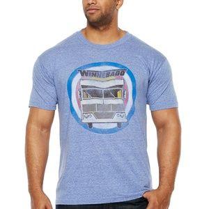 Official Winnebago RV Big & Tall T-Shirt LT to 5XL